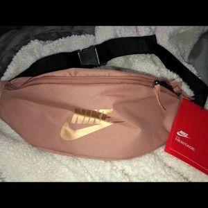 Nike rose gold fanny pack